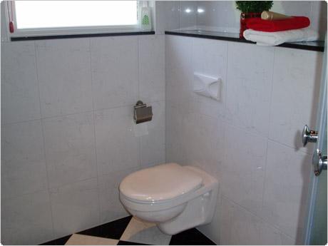 R van den assem tegel en afbouwbedrijf - Zwart wit toilet ...